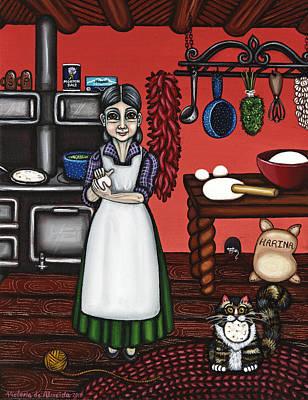 Abuelita Or Grandma Original by Victoria De Almeida