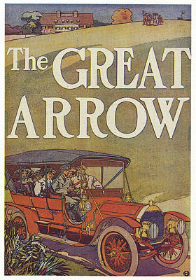 1907 Drawing - Ad Pierce-arrow, 1907 by Granger
