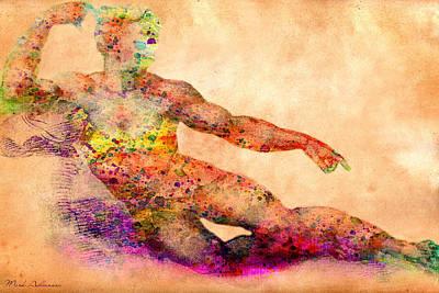 Male Digital Art - Adam by Mark Ashkenazi