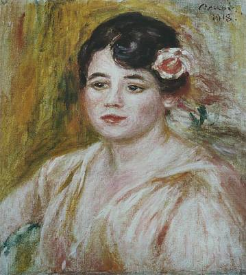 Pierre August Renoir Painting - Adele Besson by Celestial Images