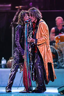 Aerosmith Print by Don Olea