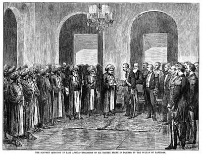 Africa Slave Trade, 1873 Print by Granger