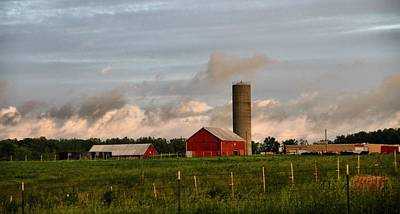 After The Storm Photograph - After The Storm On The Farm by Dan Sproul