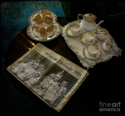 Afternoon Tea Print by Adrian Evans