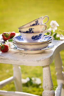 Afternoon Tea Print by Amanda And Christopher Elwell