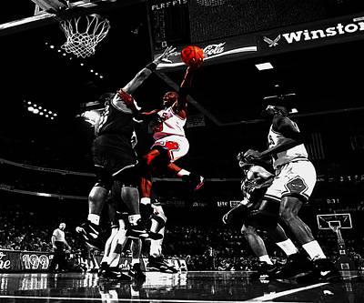 Air Jordan  Print by Brian Reaves