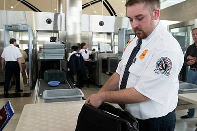 Airport Security Print by Jim West