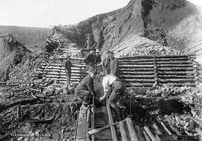 Alaska Mining, 1916 Print by Granger