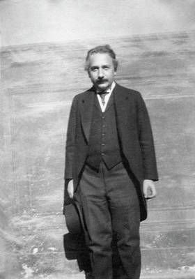 Astrophysical Photograph - Albert Einstein by Emilio Segre Visual Archives/american Institute Of Physics