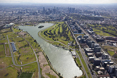 Photograph - Albert Park, Australian Grand Prix by Brett Price