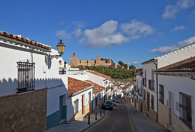 Hilltop Scenes Photograph - Alcazaba Castle In Antequera, Malaga by Panoramic Images