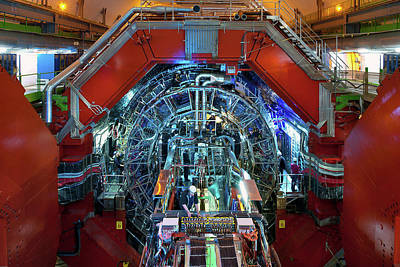 Ion Photograph - Alice Detector At Cern by Cern
