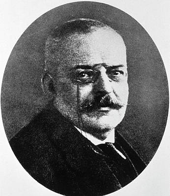Psychiatry Photograph - Alois Alzheimer by National Library Of Medicine