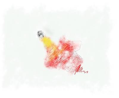 Alone Print by Ruth Clotworthy