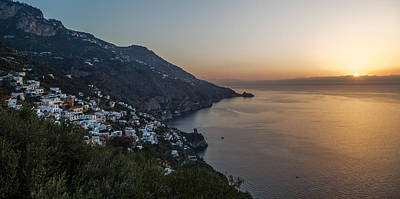 Photograph - Amalfi Sunrise by John Pike