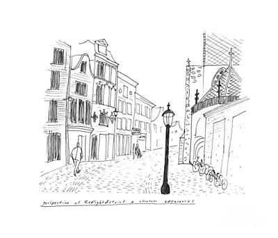 Amsterdam Print by Steven Tomadakis