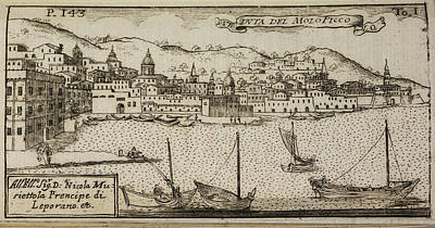 An Illustration Of 18th Century Naples Print by British Library
