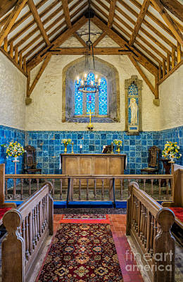 Ancient Chapel Print by Adrian Evans