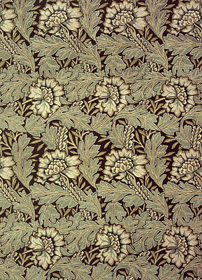 Configuration Tapestry - Textile - Anemone Design by William Morris