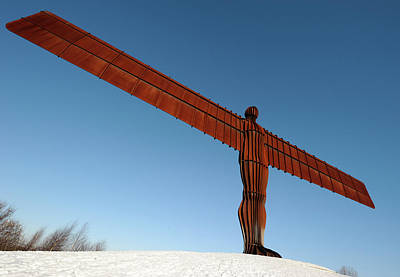 Angel Of The North Print by Public Health England