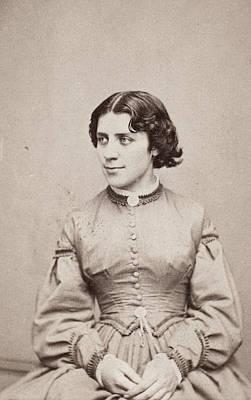Suffrage Painting - Anna Elizabeth Dickinson (1842-1932) by Granger
