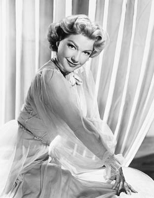 Anne Baxter, Ca. Early 1950s Print by Everett