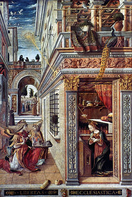 Incarnation Painting - Annunciation by Granger