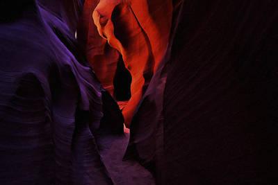 Urban Canyon Digital Art - Antelope Canyon 3 by Ingrid Smith-Johnsen