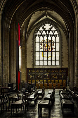 Architecture Photograph - Antwerp Cathedral by Joan Carroll