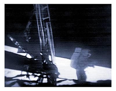 Apollo 11 Moon Landing Print by Nasa/detlev Van Ravenswaay