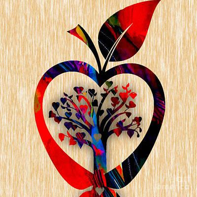 Apple Tree Print by Marvin Blaine