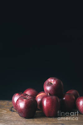 Red Fruit Photograph - Apples by Viktor Pravdica