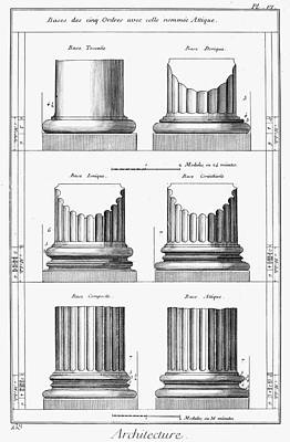 Composite Painting - Architecture Columns by Granger