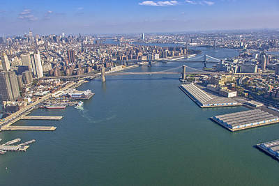 Bridge Photograph - Around Manhattan, New York City by Ofir Ben Tov