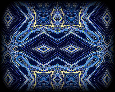 Abstract Digital Painting - Art Series 5 by J D Owen