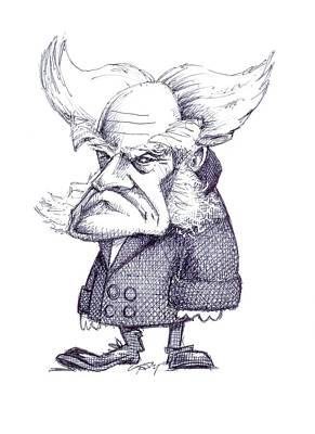 Psychology Photograph - Arthur Schopenhauer by Gary Brown