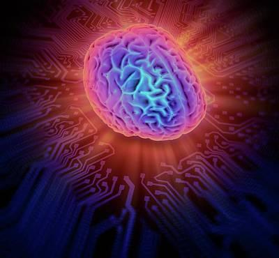 Artificial Intelligence Print by Andrzej Wojcicki