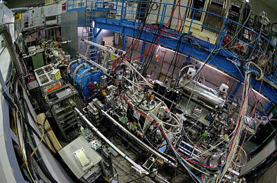 Machinery Photograph - Asacusa Experiment At Cern by Cern