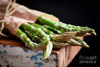 Fresh And Delicious Photograph - Asparagus by Kati Molin