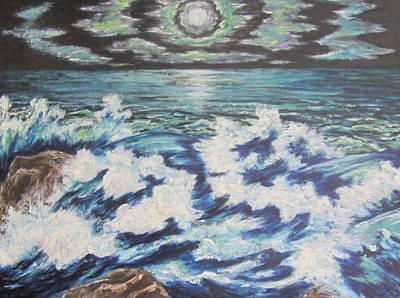 At The Edge Original by Cheryl Pettigrew