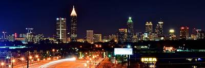 Atlanta From Above Print by Frozen in Time Fine Art Photography