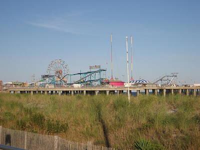 Tan Photograph - Atlantic City - 01131 by DC Photographer