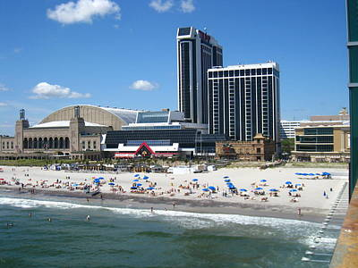 Water Photograph - Atlantic City - 01135 by DC Photographer