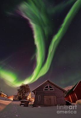 Aurora Borealis, Norway Print by Babak Tafreshi