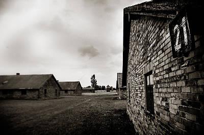 Auschwitz Print by Mihai Ilie