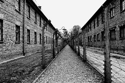 Barrack Photograph - Auschwitz by Mountain Dreams