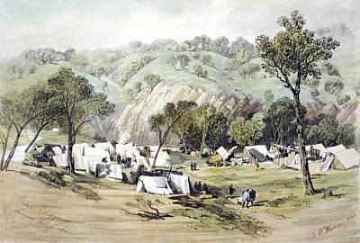 Gold Rush Painting - Australia Gold Rush, 1851 by Granger