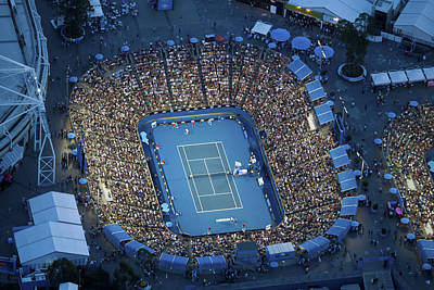 Photograph - Australlian Open Tennis Venues by Brett Price