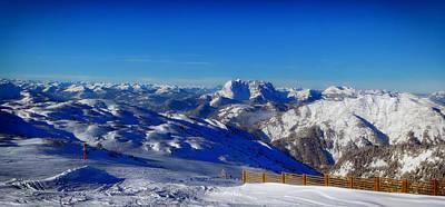 Austrian Panorama Print by Mountain Dreams
