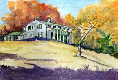 Reprint Painting - Autumn by Harriet Davidsohn